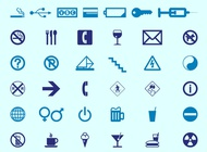 Link toSigns and icons vector free
