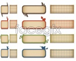 Link toSilhouettes decorative banner vector