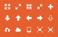 Link toSilkcons:120 glyphs set psd