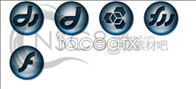 Link toSilver black crystal ball icons