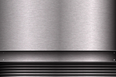 Link toSilver brushed steel background vector