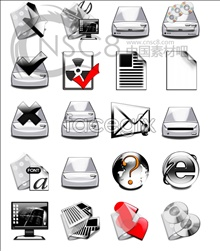 Link toSilver white light system icons