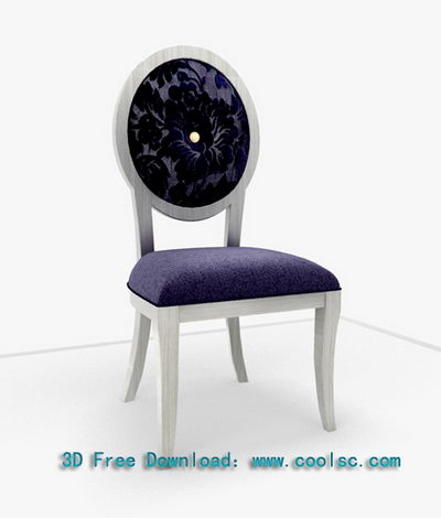 Link toSimple 3d model of the european round chairs (including materials)