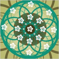 Link toSimple and elegant pattern background 03 vector