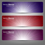Link toSimple banner ads vector