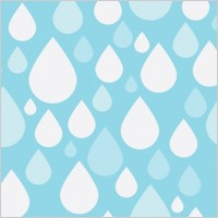 Link toSimple blue & white raindrop tiling pattern