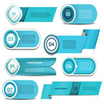 Link toSimple business button vector