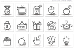 Link toSimple business icon vector