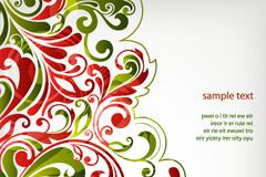 Link toSimple but elegant pattern background design vector