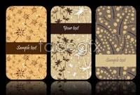 Link toSimple but elegant pattern backgrounds card vector 2
