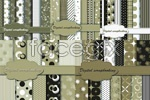 Link toSimple but elegant pattern fabric vector
