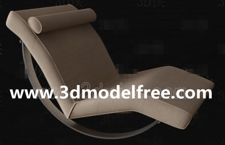Link toSimple chaise lounge 3d model
