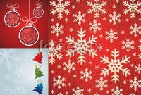 Link toSimple christmas ornament background