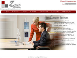 Link toSimple corporate layout