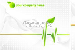 Link toSimple green background vector