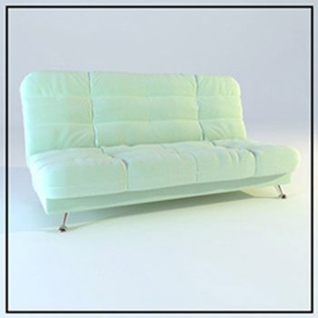 Link toSimple model of light comfortable sofa 3d model