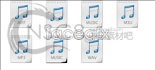 Link toSimple mp3 music icon