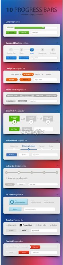 Link toSimple page elements psd