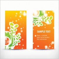 Link toSimple pattern business card template 05 vector