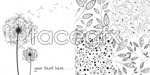 Link toSimple plant background vector