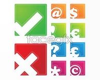Link tovector symbol money symbol square Simple