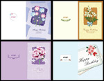 Link toSimple style birthday card psd