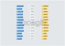Link toSimple style web ui design button psd source file