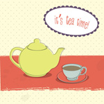 Link toSimple tea illustration vector