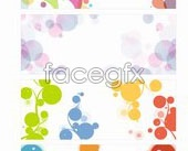Link toSimple trend graph background vector