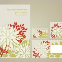 Link toSimple vi template vector flowers 1
