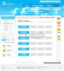 Link toSimple website design templates psd