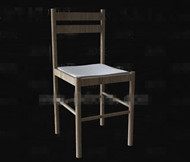 Link toSimple wooden back-rest chair 3d model