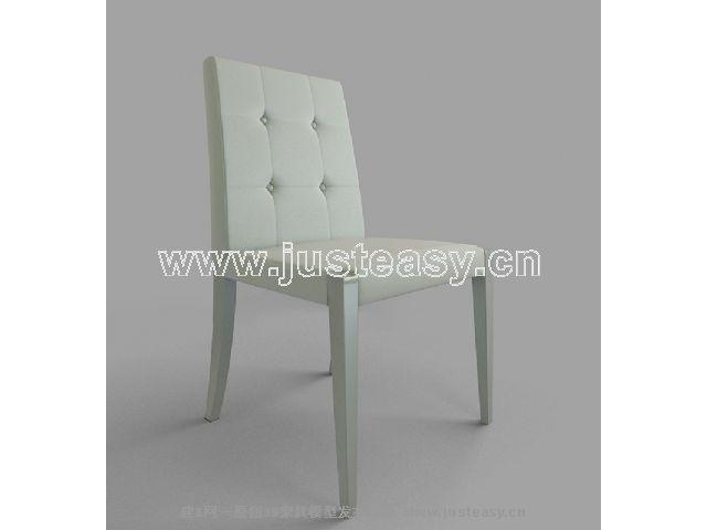 Link toSingle blue armchair 3d model