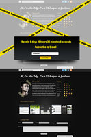 Link toSingle page portfolio psd