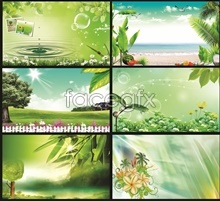 Link topictures backgrounds psd design layout spring of atmosphere group Six