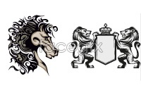 Link toSketch of hale styles animal patterns vector