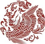 Link toSketch of phoenix bars vector