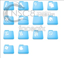 Link toSky blue folder icon