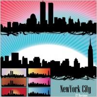 Link toSkyline us newyork city vectors