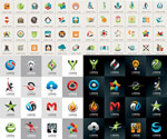 Link toSleek, minimalist logo vector