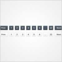 Link toSlick pagination links psd