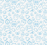 Link toSmall animal seamless background vector