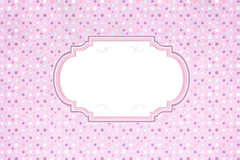 Link toSmall colored dots, label background vector