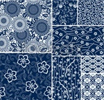 Link toSmall floral pattern backgrounds vector
