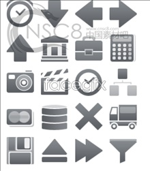 Link toSmall grey web page icons
