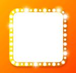 Link toSmall light bulb border vector