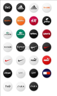 Link toSmall sneaker brand icons