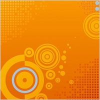 Link toSmall square grid background vector background on circular elements