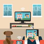 Link toSmart home illustration vector