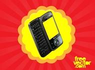 Link toSmart phone vector free